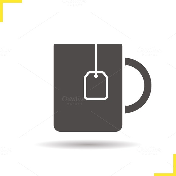 Teacup icon. Vector - Icons