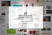 Bundle - Email Designs Temp-Graphicriver中文最全的素材分享平台