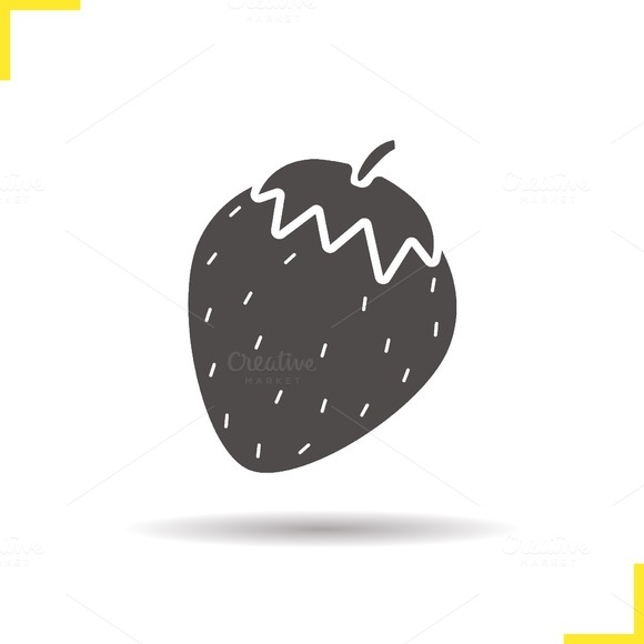 Strawberry icon. Vector - Icons
