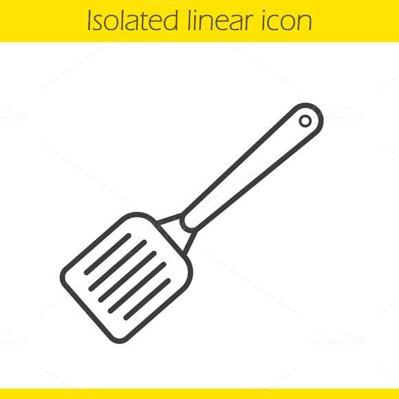 Spatula icon. Vector - Icons