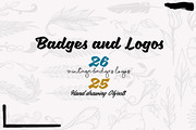 Vintage Badges and Objects-Graphicriver中文最全的素材分享平台