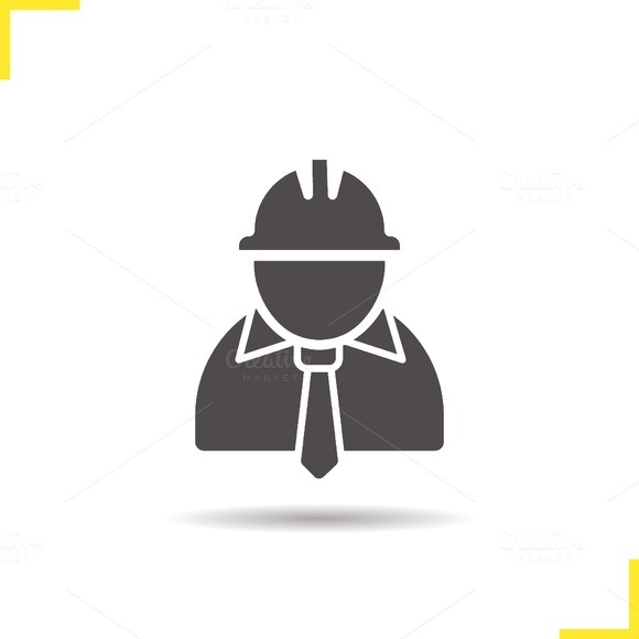 Engineer icon. Vector - Icons