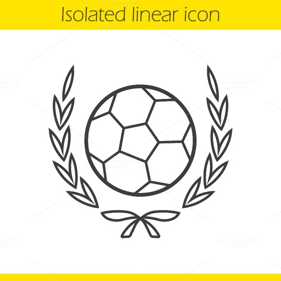 Soccer ball icon. Vector - Icons