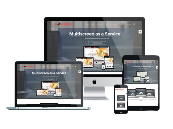 AT Web Idea Onepage Joomla Template
