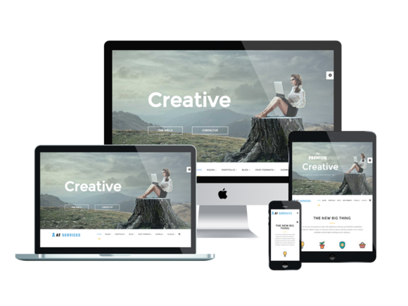 AT Services Onepage Joomla Template