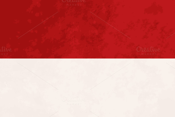 True Proportions Indonesia Flag
