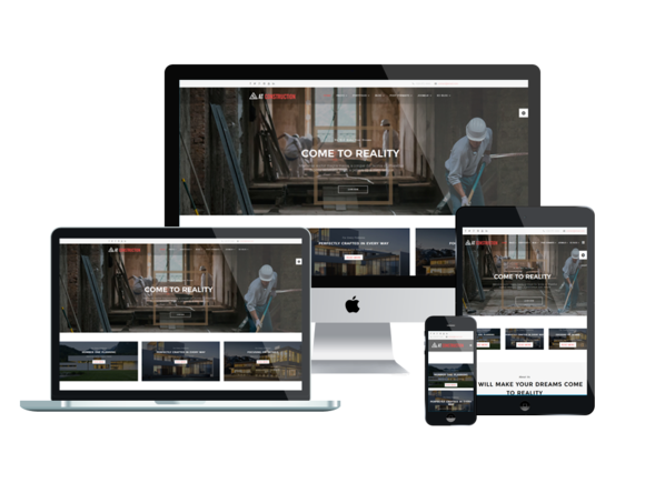 AT Construction Onepage Joomla