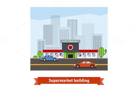 Roadside Supermarket Or Local Store