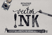 VECTOR Ink Effects For Ai-Graphicriver中文最全的素材分享平台