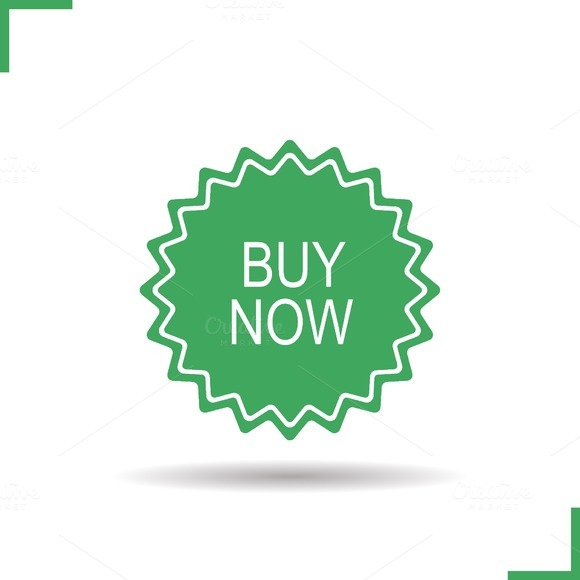 Buy now banner icon. Vector - Icons