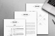 Modern Resume Template / CV-Graphicriver中文最全的素材分享平台