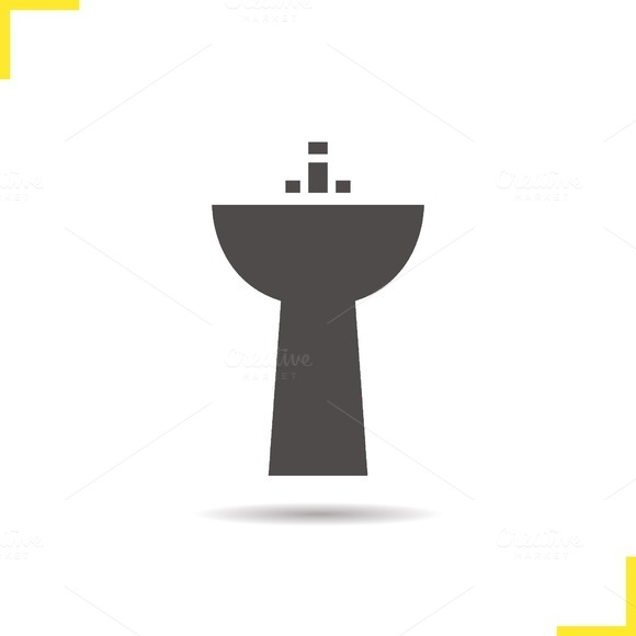 Sink icon. Vector - Icons