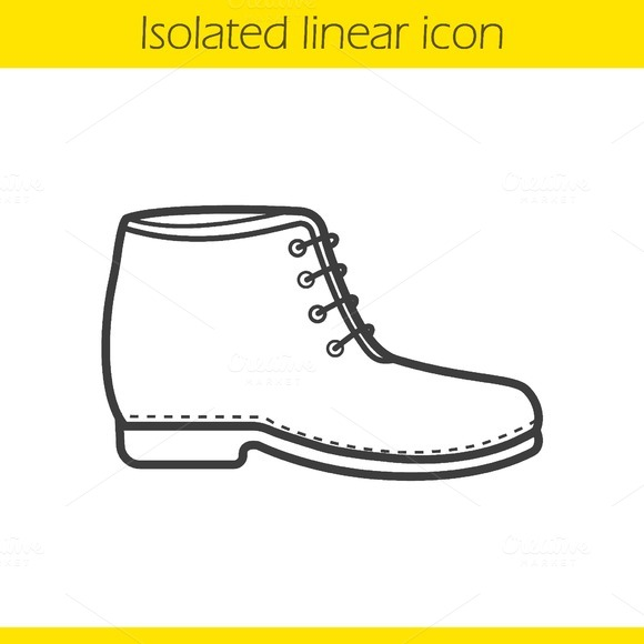 Boot icon. Vector - Icons