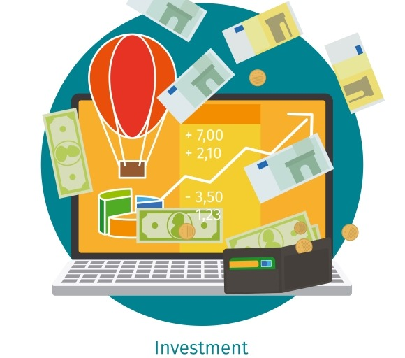 Financial Investment Concept