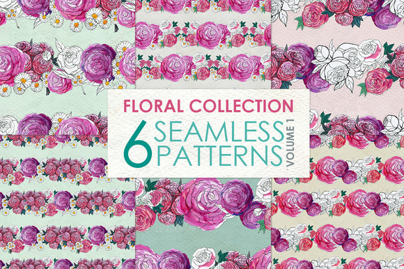 Floral Pattern Collection Vol. 1 - Patterns