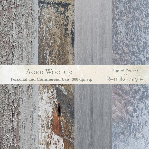 Aged Wood 19 Digital Textures