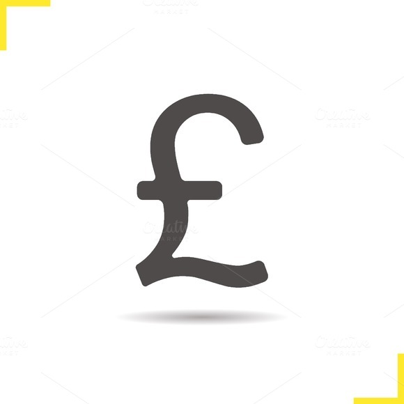 Pound icon. Vector - Icons