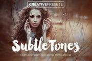 SubtleTones ~ 10 Lightroom -Graphicriver中文最全的素材分享平台