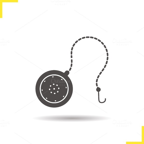 Tea ball infuser icon. Vector - Icons