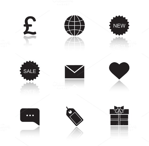 Web store icons. Vector - Icons