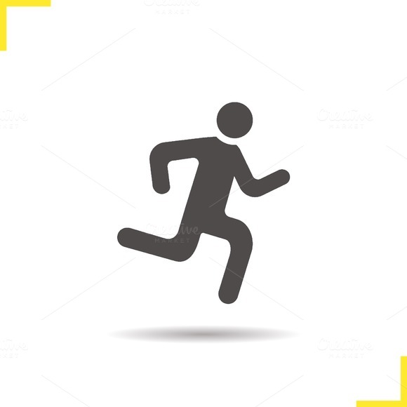 Runner icon. Vector - Icons