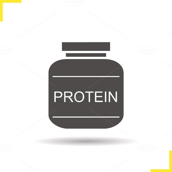 Protein powder icon. Vector - Icons