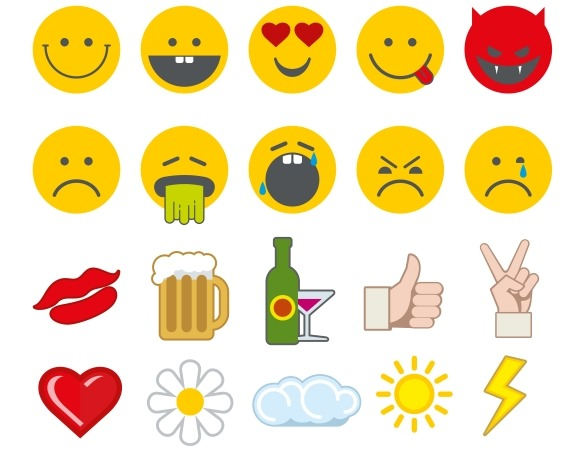 Emoticon Vector Icons
