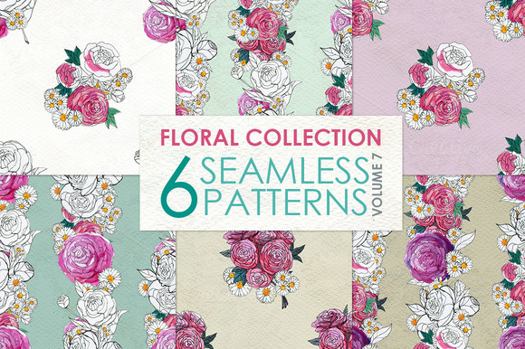 Floral Pattern Collection Vol. 7 - Patterns