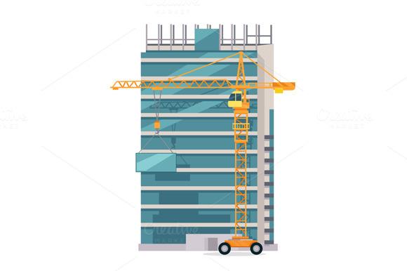 Building Process. Success Engineer - Illustrations