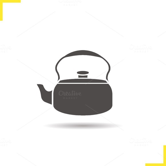 Kettle icon. Vector - Icons