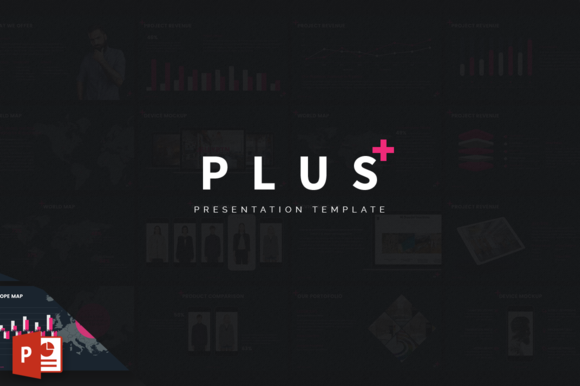 PLUS Powerpoint Template