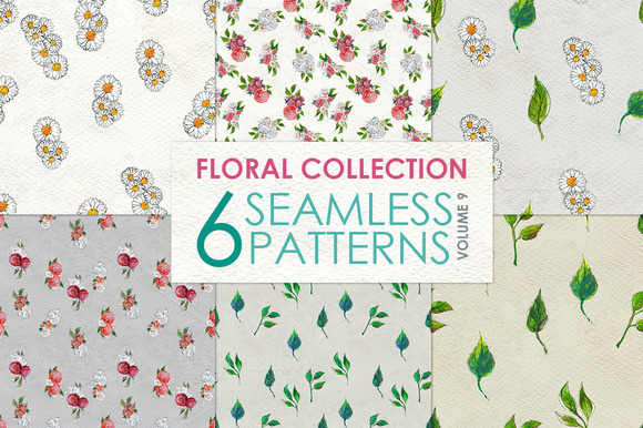 Floral Pattern Collection Vol. 9 - Patterns