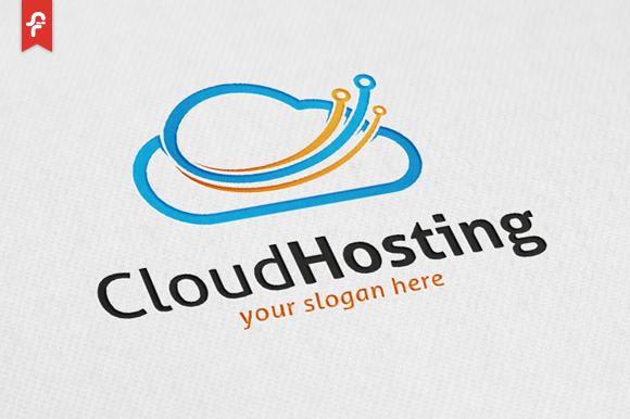 Cloud Hosting Logo