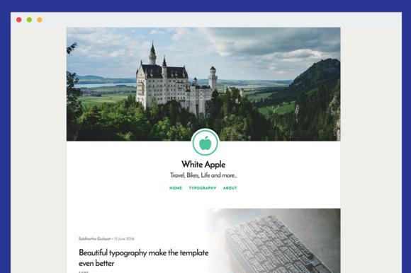 WhiteApple Simple Readable