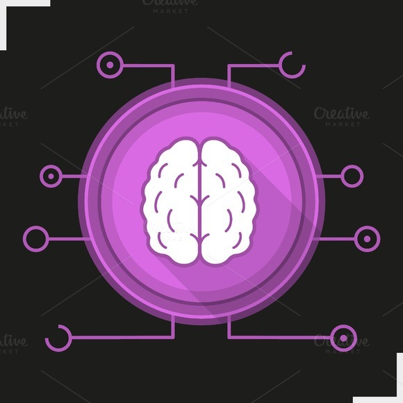 Neural networks icon. Vector - Icons