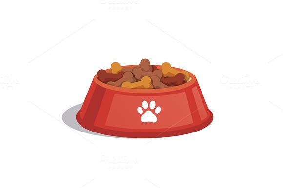 Dog Dry Food Bowl
