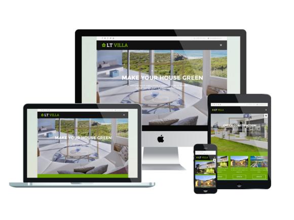 LT Villa Onepage-Joomla Template