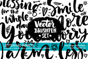 Vector Brushpen Set-Graphicriver中文最全的素材分享平台