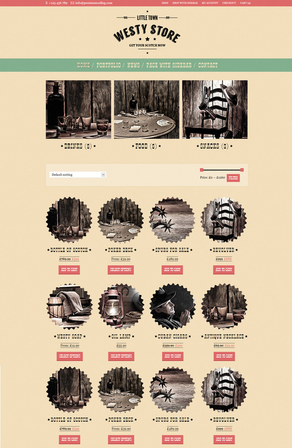 Westy – A cowboy WooCommerce Theme