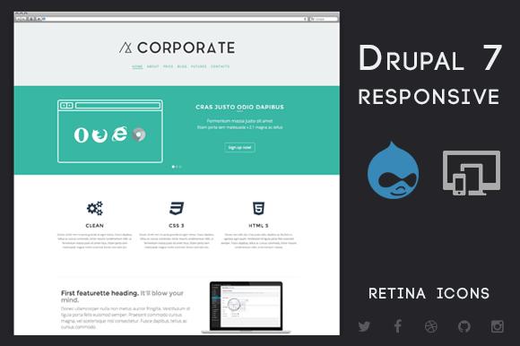 Corporate Drupal 7 Business Theme