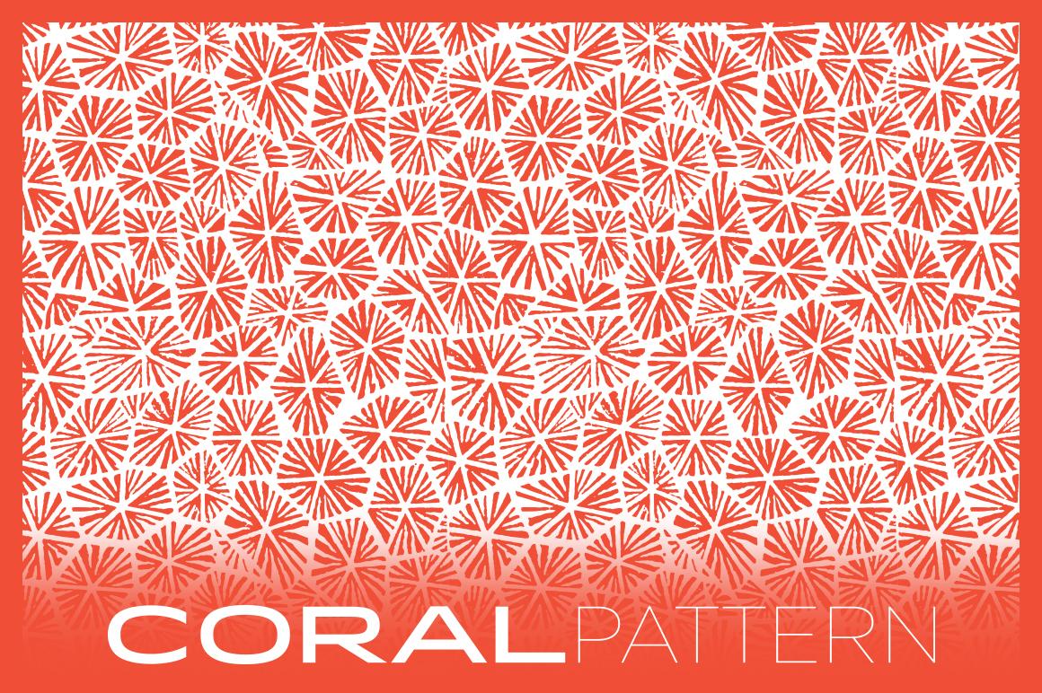 coral pattern patterns on creative market