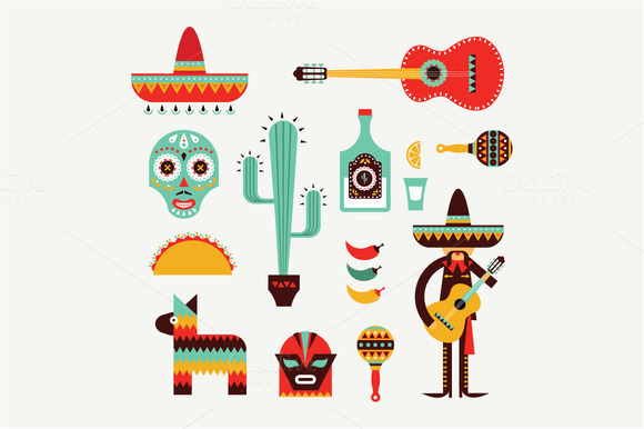 Icono Mapa Mexico Png: Graphics On Creative Market