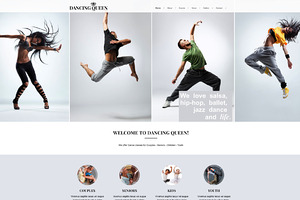 Dancing Queen-Dance & Music Template