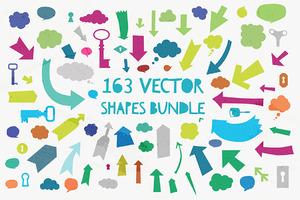 163 Vector Shapes Bundle