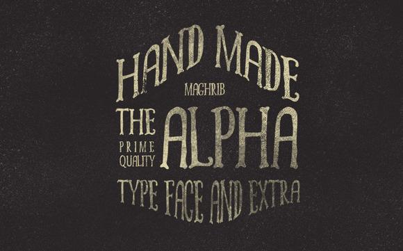 Alpha Rough + Extras