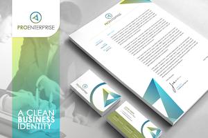 RW Clean Corporate Identity + Logo