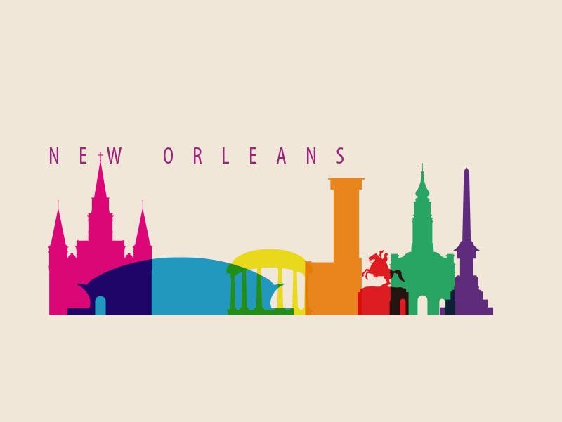 New Orleans City Skyline New Orleans City Landmarks