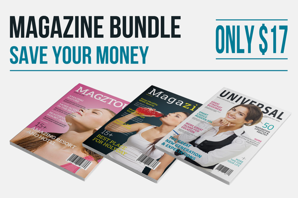 InDesign Magazine Bundle