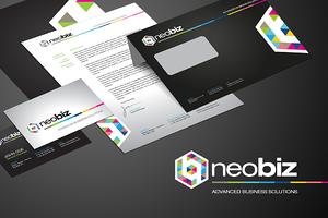RW Neobiz Modern Identity + Logo