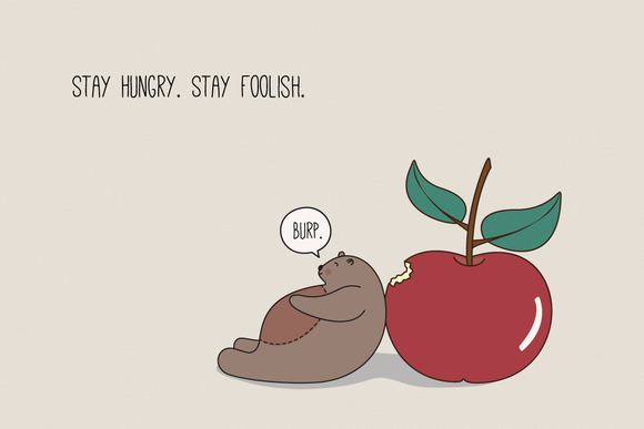Stay Hungry. Stay Foolish. - Illustrations